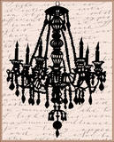 Chandelier Calligraphy II