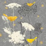 Gray Meadow Lace II Reproduction d'art par Jill Meyer