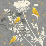 Gray Meadow Lace I Reproduction d'art par Jill Meyer