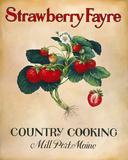 Strawberry Fayre Giclée par Isiah And Benjamin Lane