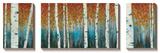 Birch Haven Tableau multi toiles par W. Blake