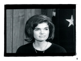 Jackie Kennedy III Giclée par British Pathe