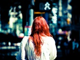 Red Hair and Bokeh