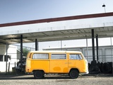 Yellow Bus and Deserted Gas Station  Page  Arizona