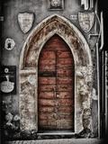 Ancient Door in L'Aquila Papier Photo par Andrea Costantini
