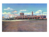 Albuquerque  New Mexico - View of Municipal Airport Admin Building