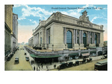 New York City  New York - Exterior View of Grand Central