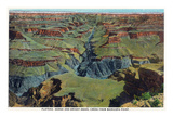 Grand Canyon Nat'l Park  Arizona - Maricopa Point View of Bright Angel Creek