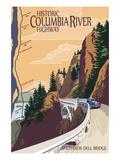 Columbia River Gorge  Oregon - Historic Columbia River Highway
