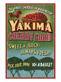 Yakima  Washington - Cherries
