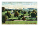 Syracuse  New York - View of Burnet Park