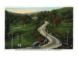 Martins Mountain  Maryland - National Road Scene East of Cumberland