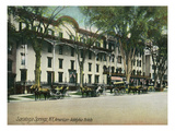 Saratoga Springs  New York - American-Adelphia Hotel Buildings