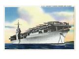 View of Uss Ranger Aircraft Carrier and Planes