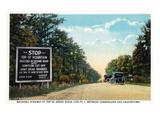 Green Ridge  Maryland - National Road at Summit Scene