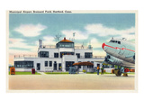 Hartford  Connecticut - Brainard Field Municipal Airport View