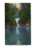 Blue Ridge Mountains  North Carolina - The Narrows
