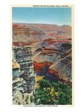Grand Canyon Nat'l Park  Arizona - Northeastern View from Near El Tovar Hotel