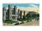 Hartford  Connecticut - Wadsworth Atheneum  Morgan Memorial  Municipal Bldg Exterior