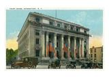 Schenectady  New York - Court House Exterior View