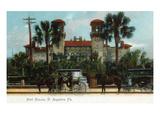 St Augustine  Florida - Hotel Alcazar Exterior View