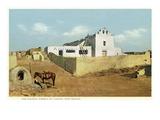 Laguna Pueblo  New Mexico - View of the Church