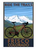 Frisco  Colorado - Mountain Bike and Mountains
