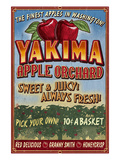 Yakima  Washington - Apple Orchard