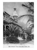 Tampa  Florida - Tampa Bay Hotel Main Entrance View