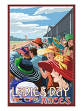 Kentucky - Ladies Day at the Track Horse Racing