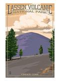 Cinder Cone - Lassen Volcanic National Park  CA