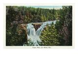 Wisconsin - Copper Falls Near Mellen Scene