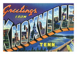Knoxville  Tennessee - Large Letter Scenes