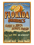 Florida - Orange Orchard Sign