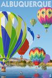 Hot Air Balloons - Albuquerque  New Mexico