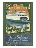 Vashon Island  Washington - Ferry Ride