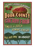 Door County  Wisconsin - Cherry