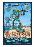 Redondo Beach  California - Atlantean Invaders