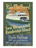 Bainbridge Island  Washington - Ferry Ride