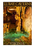 Luray Caverns  Virginia - Wishing Well