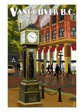 Vancouver  BC - Steam Clock