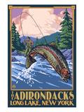 The Adirondacks - Long Lake  New York State - Fly Fishing