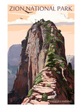Zion National Park - Angels Landing and Condors