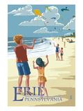 Erie  Pennsylvania - Kite Flyers