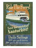 Nantucket  Massachusetts - Ferry Ride