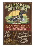 Mackinac Island  Michigan - Loon Outfitters