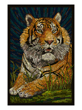 Tiger - Paper Mosaic