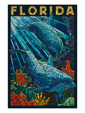 Dolphin Paper Mosaic - Florida