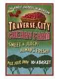 Traverse City  Michigan - Cherry Farm