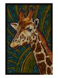 Giraffe - Paper Mosaic